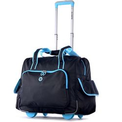 Olympia Luggage Rave Rolling Overnight Tote