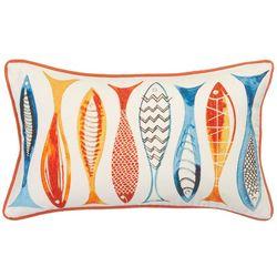 Debage Embellished Fish Decorative Pillow