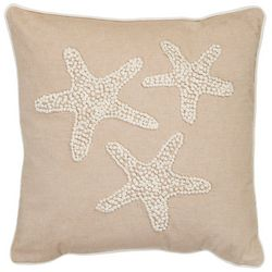 Debage Starfish Embroidered Decorative Pillow