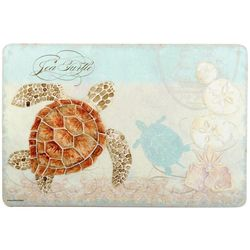 Emerald Sea Turtle Cushioned Mat