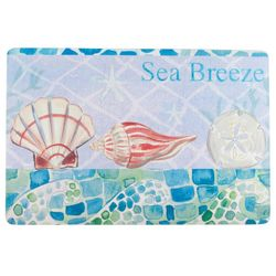 Emerald Sea Breeze Cushioned Mat