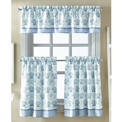 CHF Destinations 3-pc. St. Lucia Window Valance Set