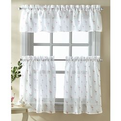 CHF Destinations 3-pc. Flamingo Window Valance Set