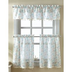CHF Destinations 3-pc. Shells Window Valance Set