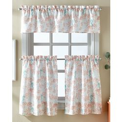 CHF Destinations 3-pc. Coral Reef Window Valance Set