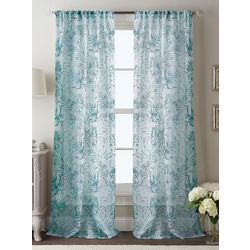 CHF Destinations 2-pc. Tulum Sheer Curtain Panel Set