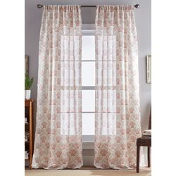 CHF Destinations 2-pc. St. Lucia Sheer Curtain Panel Set