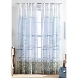 CHF Destinations 2-pc. Shoreline Sheer Curtain Panel Set
