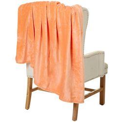 Sunyin Solid Flannel Plush Throw