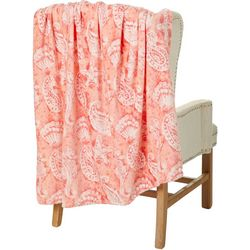 Sunyin Coastal Batik Velvet Plush Throw