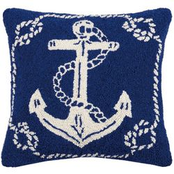 Peking Handicraft Anchor Hooked Decorative Pillow