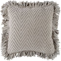 Brentwood Chenille Chevron Outdoor Decorative Pillow
