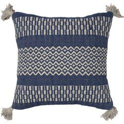 Brentwood Pattern Stripe Tassel Decorative Pillow