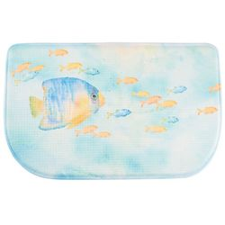 Bacova Sea Splash Memory Foam Slice Mat