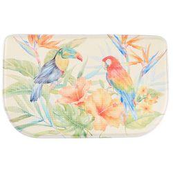Bacova Bird of Paradise Memory Foam Slice Mat