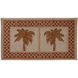 Bacova Rattan Double Palm Berber Loop Rug