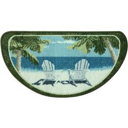 Bacova Adirondack Coast Slice Accent Rug