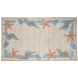 Bacova Star Shell Accent Rug