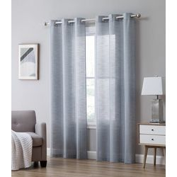 S.L. Home Fashions Sara Window Panel Set