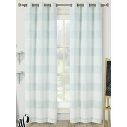 S.L. Home Fashions Shimmer Stripe Evie Juvy Panel Set