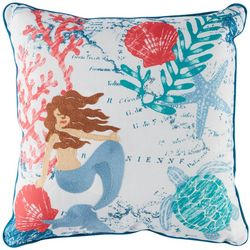 Arlee Tropical Mermaid Decorative Pillow
