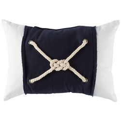 Arlee Rope Knot Decorative Pillow