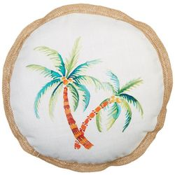 Arlee Painted Palm Decorative Pillow