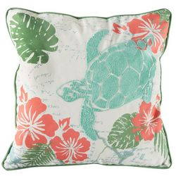 Arlee Tropical Turtle Decorative Pillow