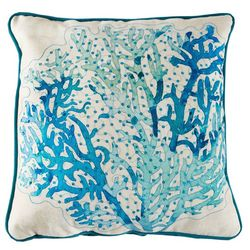 Arlee Sequin Reef Decorative Pillow