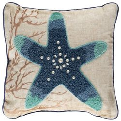 Arlee Ombre Starfish Decorative Pillow