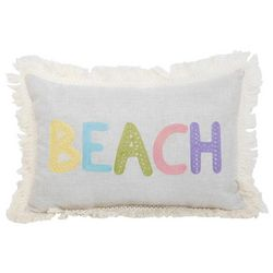 Arlee Beach Fringe Decorative Pillow