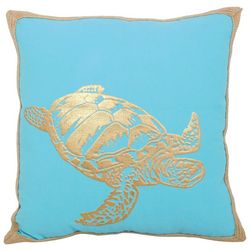 Arlee Golden Turtle Decorative Pillow