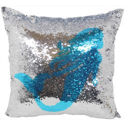 Arlee Mermaid Sequin Decorative Pillow