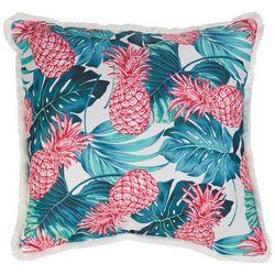 Home Fashion Pineapple & Palms Decorative Pillow