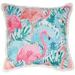 Home Fashion Flamingo Festival Decorative Pillow