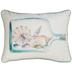 Home Fashion Message In A Bottle Decorative Pillow