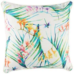 Home Fashion Watercolor Floral II Decorative Pillow