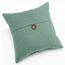 Home Fashion Dynasty 1 Button Decorative Pillow