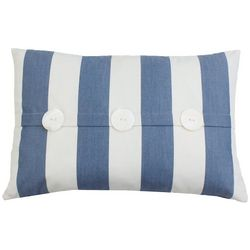 Thro Wren Striped Decorative Pillow