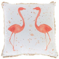 Thro Fatima Flamingo Decorative Pillow