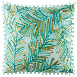 Coastal Home Brittany Leaf Decorative Pillow