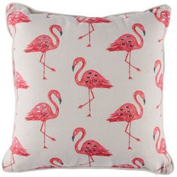 Coastal Home Farley Flamingo Decorative Pillow