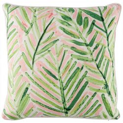 Coastal Home Charla Leaf Decorative Pillow