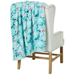 Thro Faye Fern Fleece Decorative Throw