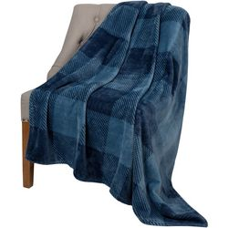 safdie Ribbed Flannel Throw