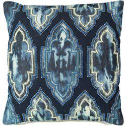 Mod Lifestyles Moroccan Tie Dye Decorative Pillow