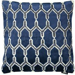 Mod Lifestyles Blue Collection Shooting Star Pillow