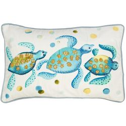 Mod Lifestyles 3 Turtle Decorative Pillow