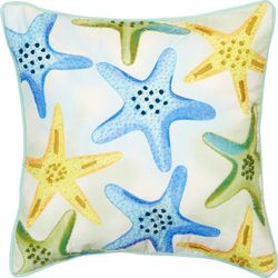 Mod Lifestyles All Over Starfish Decorative Pillow