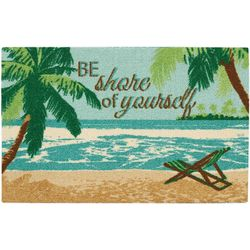 Nourison Be Shore Of Yourself Accent Rug
